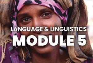 Module 5 - language & linguistics