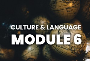 Module 6 - culture and language